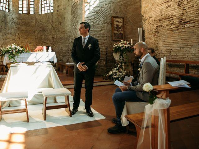 Il matrimonio di Mattia e Linda a Longiano, Forlì-Cesena 32