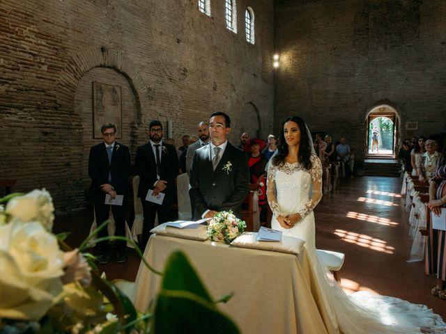 Il matrimonio di Mattia e Linda a Longiano, Forlì-Cesena 34