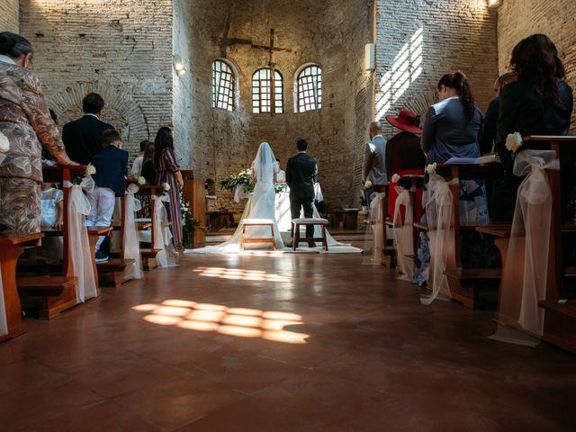 Il matrimonio di Mattia e Linda a Longiano, Forlì-Cesena 35
