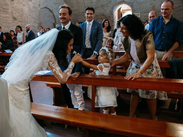 Il matrimonio di Mattia e Linda a Longiano, Forlì-Cesena 45