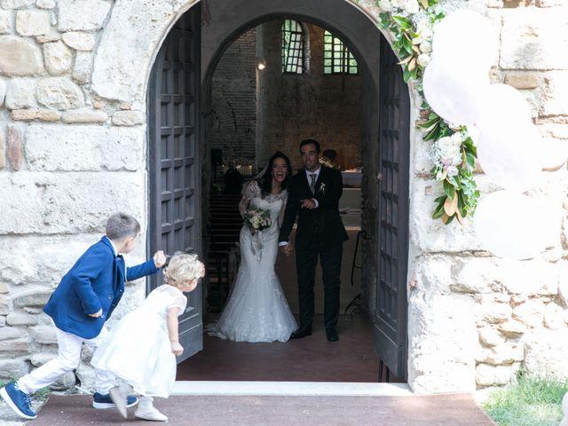 Il matrimonio di Mattia e Linda a Longiano, Forlì-Cesena 49