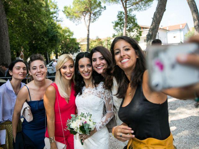 Il matrimonio di Mattia e Linda a Longiano, Forlì-Cesena 56