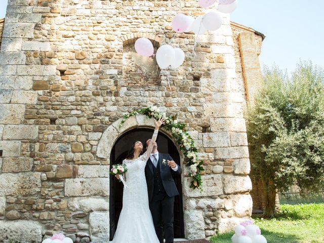 Il matrimonio di Mattia e Linda a Longiano, Forlì-Cesena 57