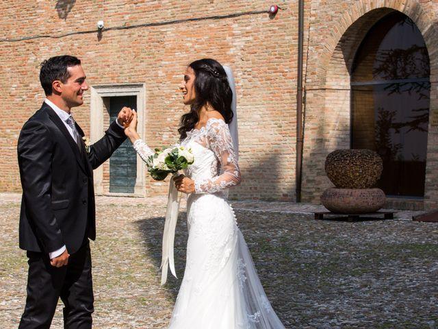 Il matrimonio di Mattia e Linda a Longiano, Forlì-Cesena 64