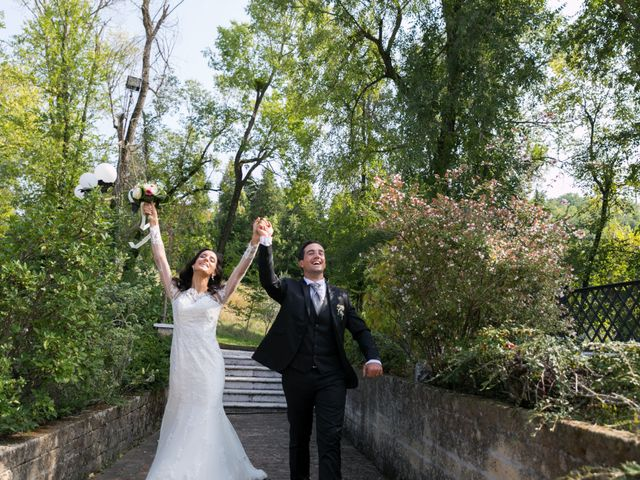 Il matrimonio di Mattia e Linda a Longiano, Forlì-Cesena 74
