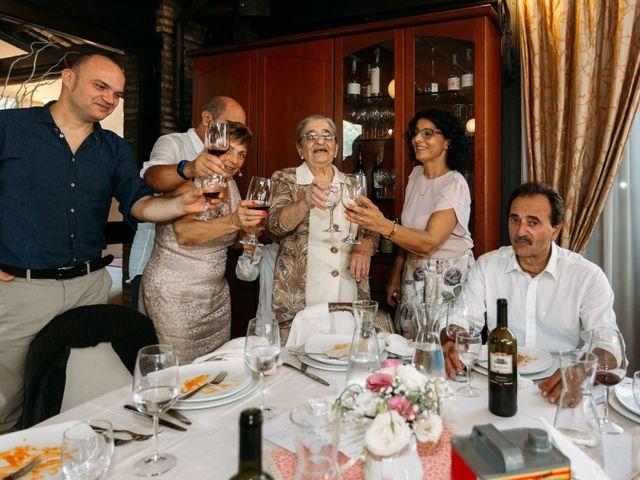 Il matrimonio di Mattia e Linda a Longiano, Forlì-Cesena 81