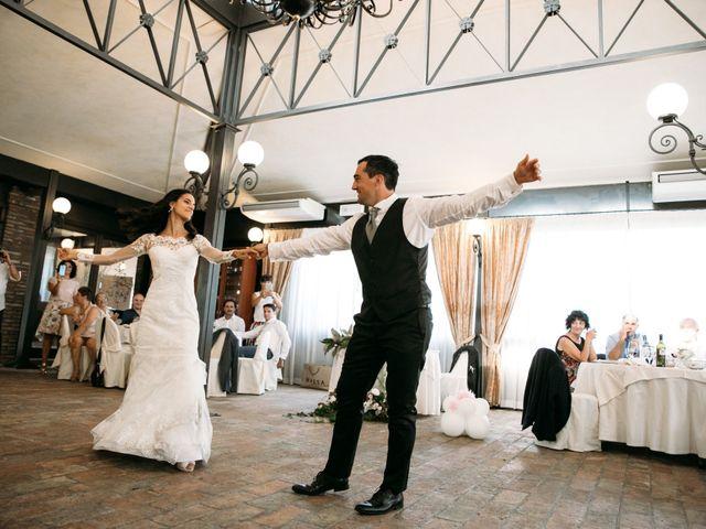 Il matrimonio di Mattia e Linda a Longiano, Forlì-Cesena 86