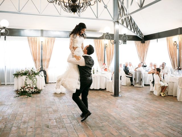 Il matrimonio di Mattia e Linda a Longiano, Forlì-Cesena 87