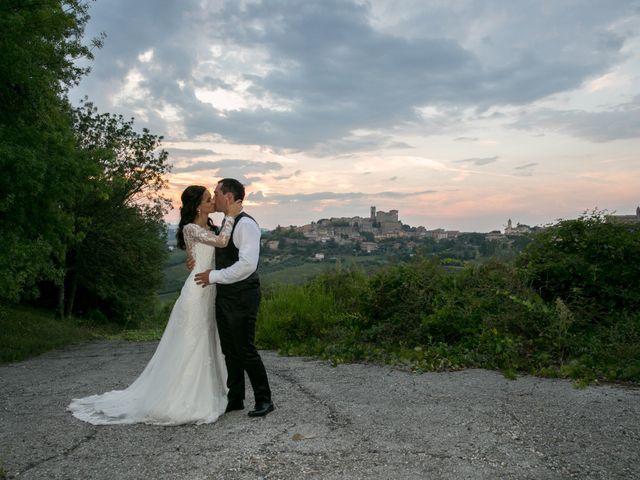 Il matrimonio di Mattia e Linda a Longiano, Forlì-Cesena 110