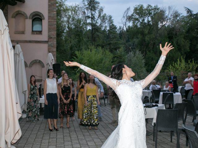 Il matrimonio di Mattia e Linda a Longiano, Forlì-Cesena 112