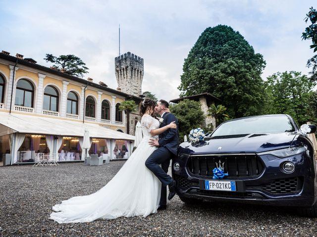 Il matrimonio di Stefano e Denise a Milano, Milano 57