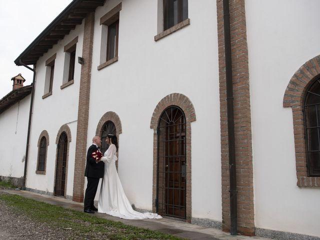 Il matrimonio di Sergio e Marina a Albairate, Milano 33