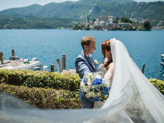 Il matrimonio di Alessandro e Arianna a Omegna, Verbania 40