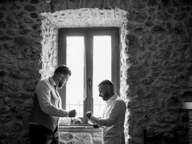Il matrimonio di Mirko e Elena a Scandriglia, Rieti 1