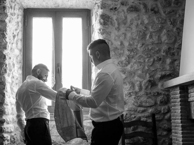 Il matrimonio di Mirko e Elena a Scandriglia, Rieti 3