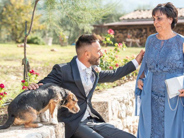 Il matrimonio di Mirko e Elena a Scandriglia, Rieti 9