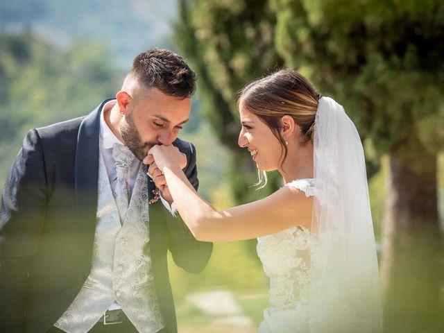 Il matrimonio di Mirko e Elena a Scandriglia, Rieti 21