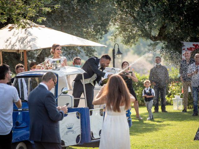 Il matrimonio di Mirko e Elena a Scandriglia, Rieti 33