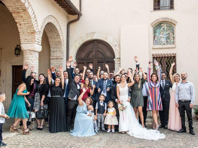 Il matrimonio di Mirko e Elena a Scandriglia, Rieti 39