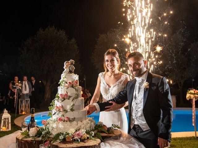 Il matrimonio di Mirko e Elena a Scandriglia, Rieti 43