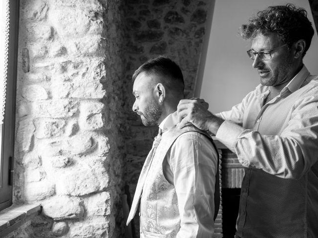 Il matrimonio di Mirko e Elena a Scandriglia, Rieti 49