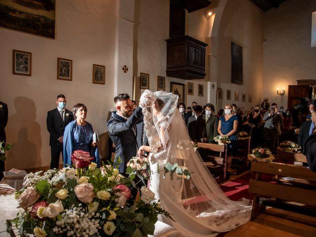 Il matrimonio di Mirko e Elena a Scandriglia, Rieti 62