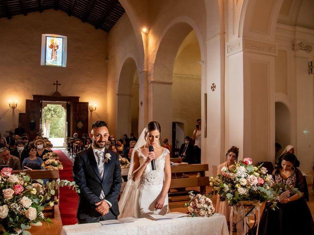 Il matrimonio di Mirko e Elena a Scandriglia, Rieti 63