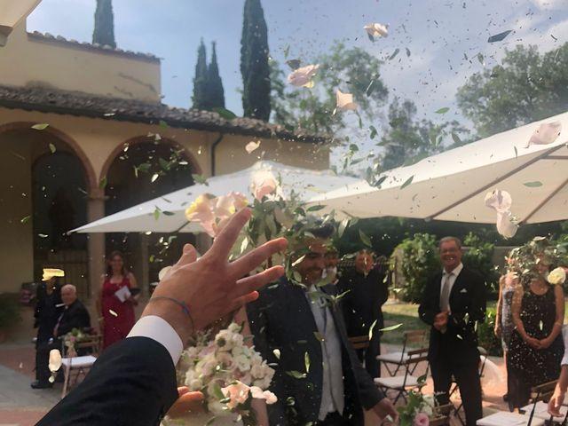 Il matrimonio di Gianluca e Laura a Montaione, Firenze 1