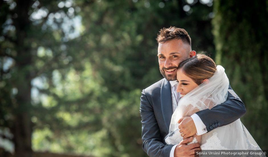 Il matrimonio di Mirko e Elena a Scandriglia, Rieti