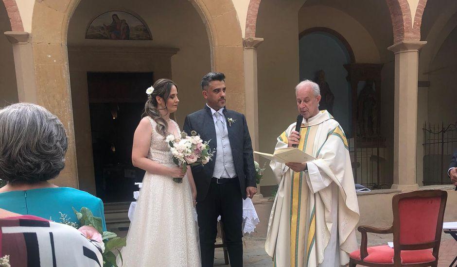 Il matrimonio di Gianluca e Laura a Montaione, Firenze