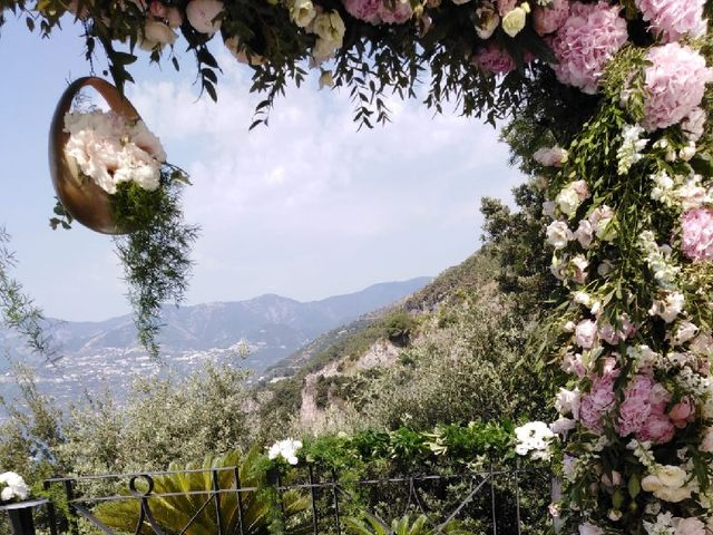 Il matrimonio di Fabio e Rossella  a Maiori, Salerno 7