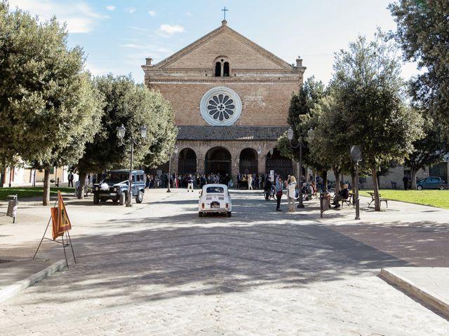Il matrimonio di Marco e Ester a Chiaravalle, Ancona 17