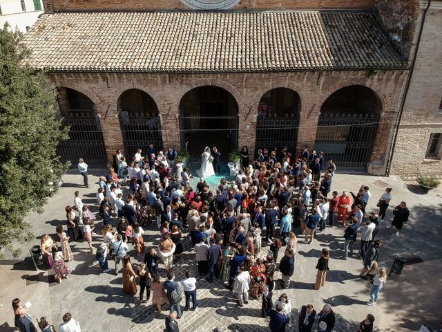Il matrimonio di Marco e Ester a Chiaravalle, Ancona 24