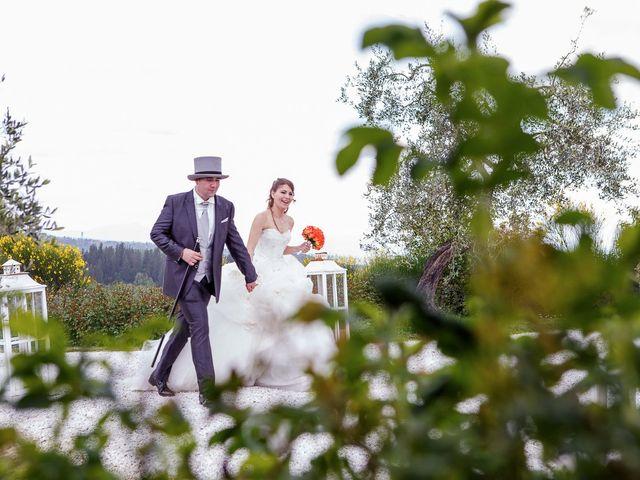 Il matrimonio di Gianni e Katia a Poggibonsi, Siena 40