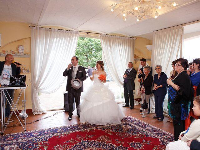 Il matrimonio di Gianni e Katia a Poggibonsi, Siena 41