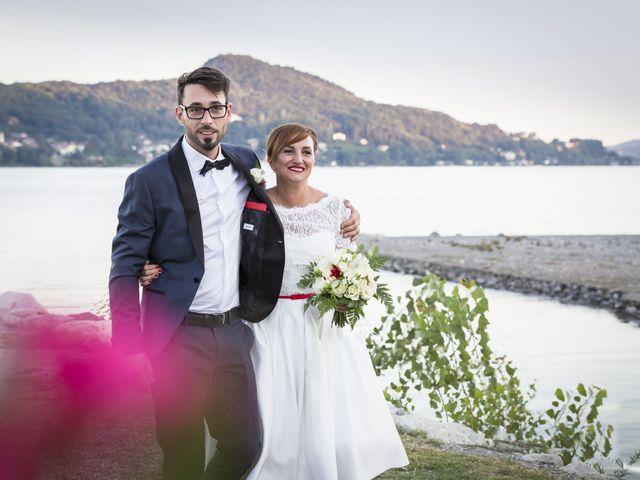 Il matrimonio di Simone e Eleonora a Lesa, Novara 2