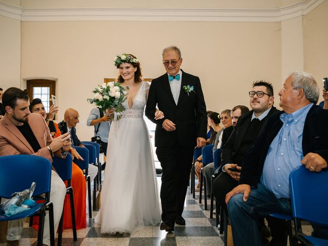 Il matrimonio di Irene e Alessandro a Testico, Savona 28