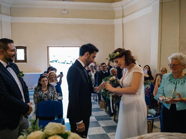 Il matrimonio di Irene e Alessandro a Testico, Savona 37