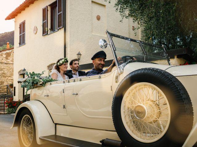 Il matrimonio di Irene e Alessandro a Testico, Savona 43