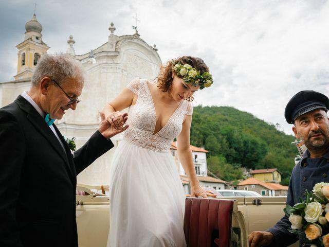 Il matrimonio di Irene e Alessandro a Testico, Savona 27