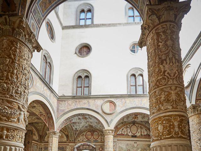 Il matrimonio di Massimiliano e Damiana a Firenze, Firenze 55