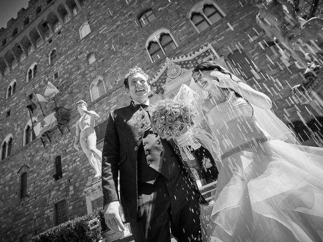 Il matrimonio di Massimiliano e Damiana a Firenze, Firenze 57