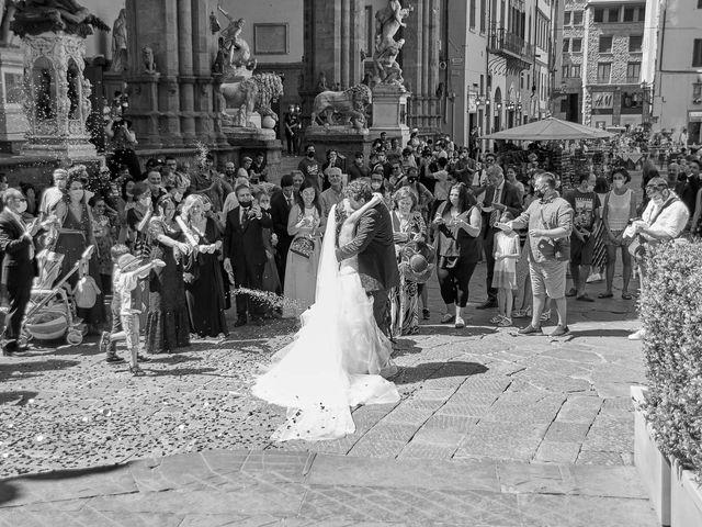 Il matrimonio di Massimiliano e Damiana a Firenze, Firenze 58