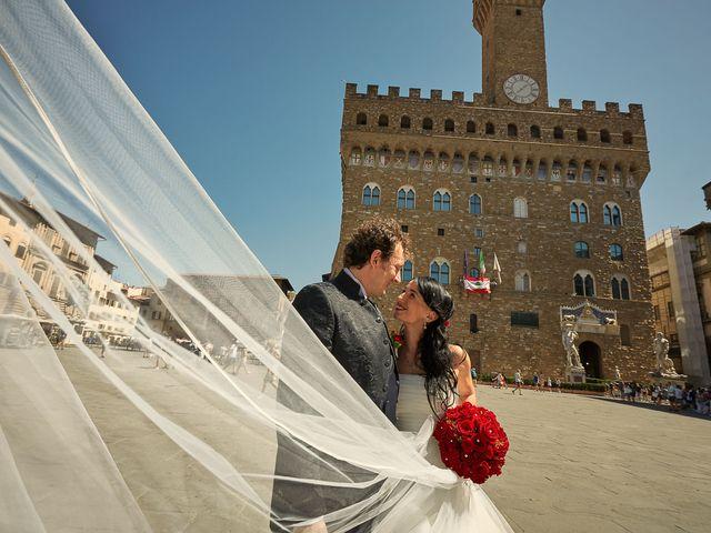 Il matrimonio di Massimiliano e Damiana a Firenze, Firenze 60