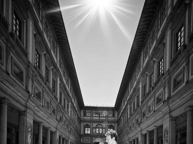Il matrimonio di Massimiliano e Damiana a Firenze, Firenze 62