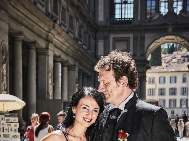 Il matrimonio di Massimiliano e Damiana a Firenze, Firenze 63
