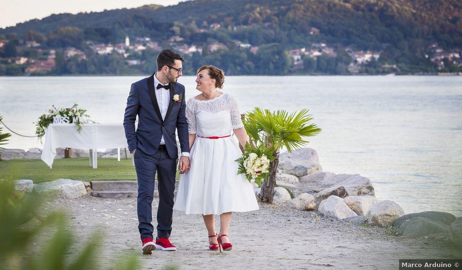 Il matrimonio di Simone e Eleonora a Lesa, Novara