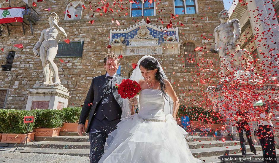 Il matrimonio di Massimiliano e Damiana a Firenze, Firenze