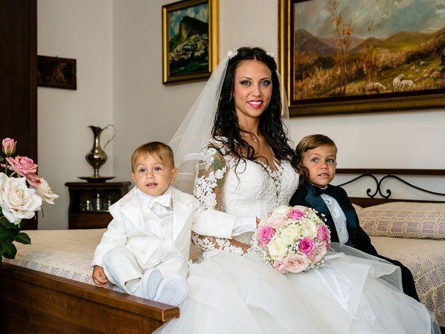 Il matrimonio di Antonio e Cristina a Tuscania, Viterbo 18