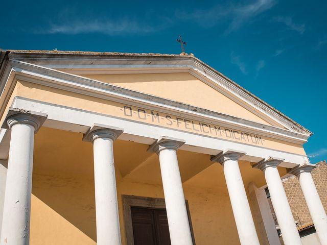 Il matrimonio di Antonio e Cristina a Tuscania, Viterbo 22